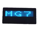 Eksitdata - Blue Scrolling LED Name Badge