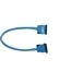 Floppy Cable Rounded, 48 cm, blue